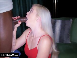 BLACKED RAW -  Her boyfriend let her have a real man for once