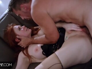 Deeper. Maitland Ward's First Anal EXCLUSIVE.