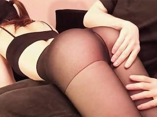 Spanking her roughly, licking and fingering fer sweet pussy and ass